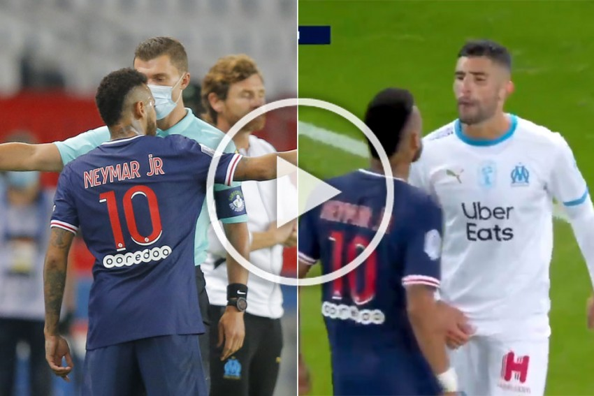 Alvaro Hits Back At Neymar, Denies Racism Accusations After Marseille's Win Over PSG - WATCH