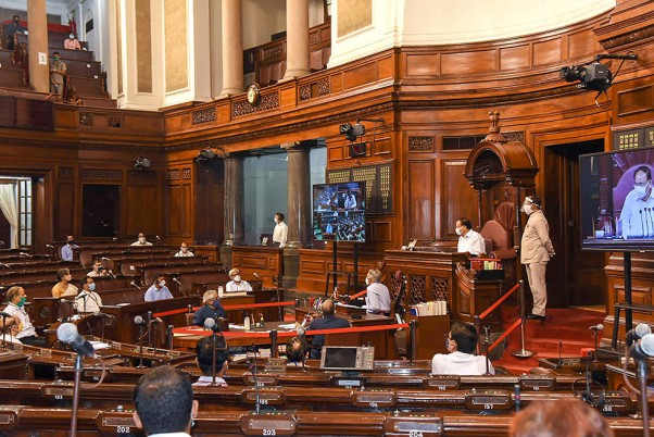 18-Day Monsoon Session of Parliament To Begin Today Following Stringent Social Distancing Protocols