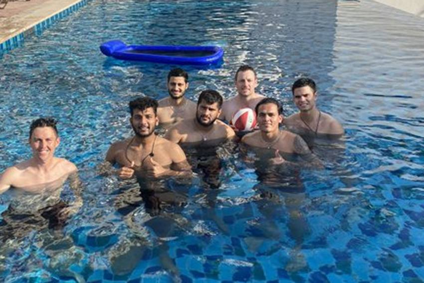 IPL 2020: Arjun Tendulkar Spotted With Mumbai Indians Stars - Some Fans Smell Nepotism