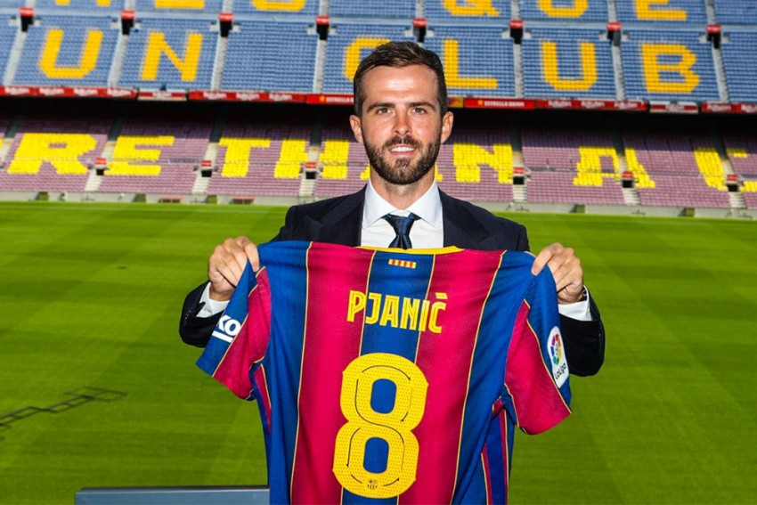 Totti, Ronaldo And Now 'Alien' Messi! – New Barcelona Signing Pjanic Cannot Believe His Luck