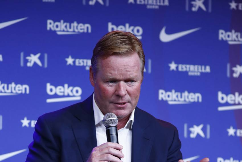 Memphis Depay To Barcelona? Must Sell Before Buying, Says Ronald Koeman