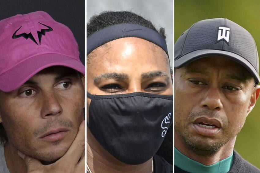 Tiger Woods Sympathises With Serena Williams And Rafael Nadal - Age Is Our Nemesis!