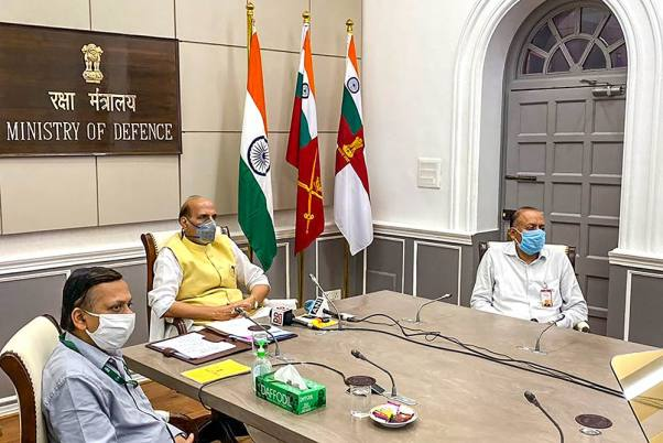 Rajnath Singh To Make Statement In Rajya Sabha On India-China Standoff On Thursday