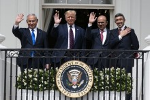 Trump Says 'Dawn Of New Middle East'; Israel Bombs Gaza After Deal With UAE, Bahrain