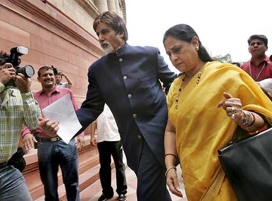 Additional Security To Bachchans After Jaya's Parliament Speech On 'Vilification Of Bollywood'