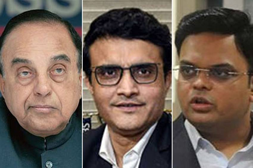Ahead of IPL 2020, Subramanian Swamy's Dramatic Flip-Flop On Sourav Ganguly, Jay Shah