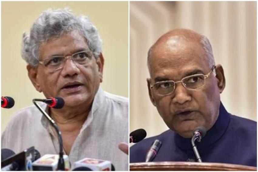 Opposition Leaders Yechury, Kanimozhi To Meet President Kovind Over Delhi Riots Probe
