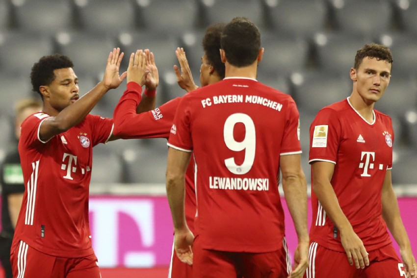 Bayern Munich 8-0 Schalke: Serge Gnabry Hits Hat-trick As Champions Start Defence In Ominous Fashion