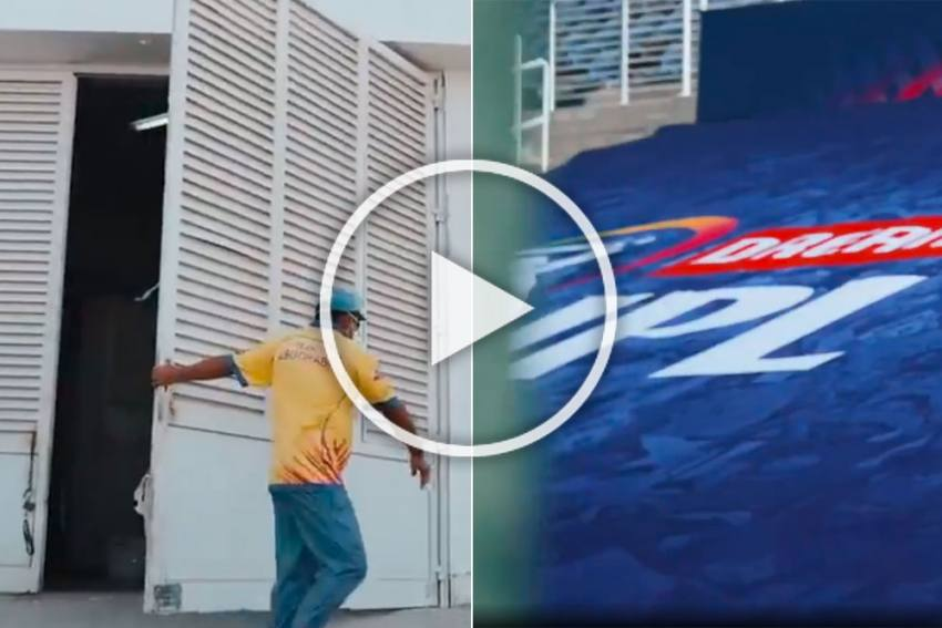 IPL 2020: Indian Premier League Raises The Curtain Ahead Of MI Vs CSK Match - WATCH Stunning Video