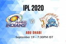 IPL 2020, Mumbai Indians Vs Chennai Super Kings, Live Cricket Scores: Dhoni Wins Toss, CSK Bowl First