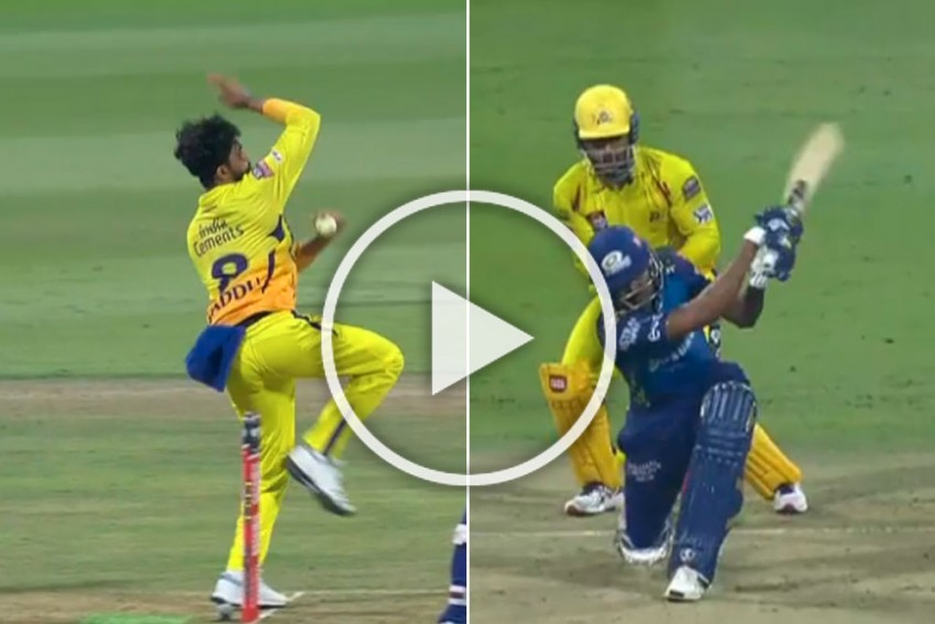 IPL 2020, MI Vs CSK: Sensational Hardik Pandya Hits Ravindra Jadeja For Back-to-back Sixes - WATCH
