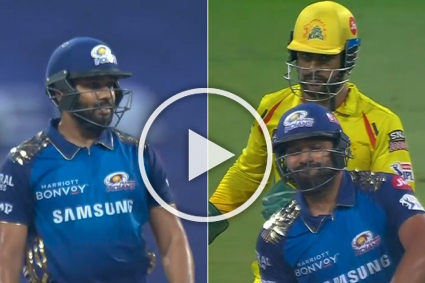 IPL 2020, MI Vs CSK: Piyush Chawla Makes Rohit Sharma Season's First Wicket - WATCH
