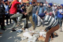 Haryana-Punjab Protest Intensifies As Police Use Water Cannon To Stop Youth Activists