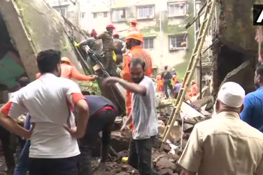 Thane: 10 dead In Bhiwandi Building Collapse, Over 20 Feared Trapped