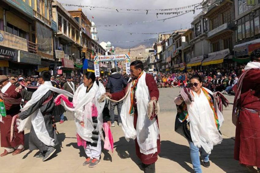 AAP, BJP, Congress Unite In Ladakh
