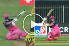 IPL 2020, RR Vs CSK: Steve Smith Plays The Craziest Cricket Shot, Don't Miss This - WATCH