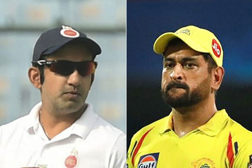 IPL 2020: Gautam Gambhir Slams MS Dhoni, Says Batting At No. 7 Is Not Leading From Front