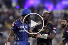 KKR Vs MI: IPL Showcases Andre Russell Video, Gets Trolled With Hardik Pandya Knock - WATCH