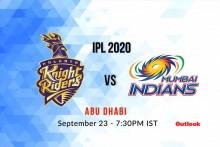 KKR Vs MI, IPL 2020: Live Cricket Scores, Live Ball-by-ball Commentary