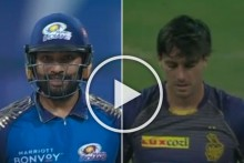 IPL 2020, KKR Vs MI: Rohit Sharma Toys With Most Expensive Overseas Player Pat Cummins - WATCH