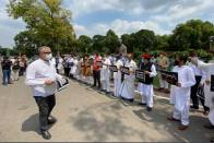 Ghulam Nabi Azad To Meet President Kovind Over Farm Bills, Opposition Stages Protest