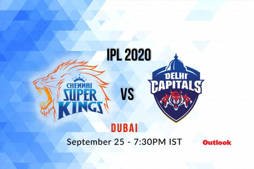 Live Streaming Of IPL 2020 Match Between Chennai Super Kings Vs Delhi Capitals -- Where To See Live