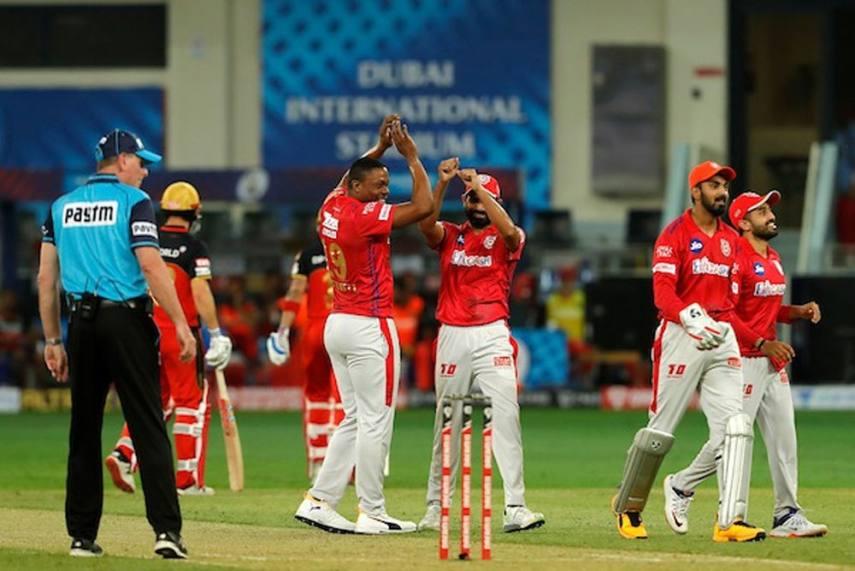 IPL 2020, Kings XI Punjab Vs Royal Challengers Bangalore, Full Scorecard