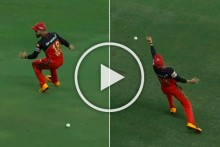 IPL 2020, KXIP Vs RCB: No Mercy For Virat Kohli As Skipper Drops Rival Captain KL Rahul Twice - WATCH