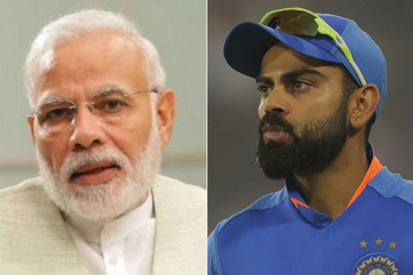 PM Narendra Modi Asks Virat Kohli If He Needs To Pass Yo-yo Test Or Gets Sparred - Skipper Comes Up With Brilliant Reply