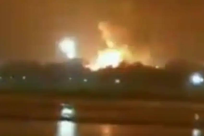 Massive Fire At ONGC In Hazira Extinguished, No Casualties Reported