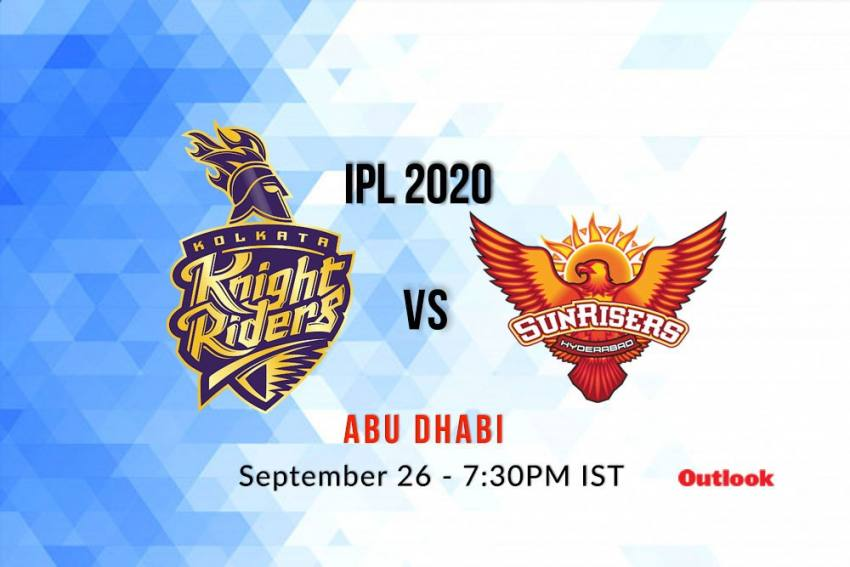 Live, IPL 2020: Where To Get Live Streaming Of KKR Vs SRH