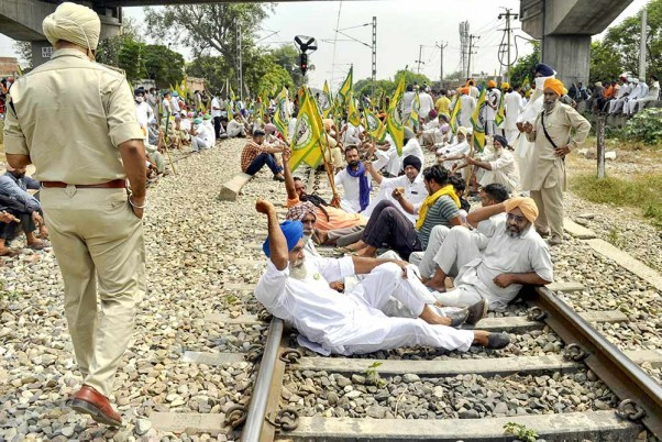 Farm Bills Protests: Security Beefed Up At Delhi Borders