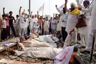 Swarm Of Farmers Gathers At Noida-Delhi Border Over 'Anti-Farmer' Bills