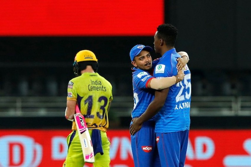 CSK Vs DC, IPL 2020, Highlights: Delhi's Kagiso Rabada Wrecks MS Dhoni's Chennai After Prithvi Shaw's Fifty