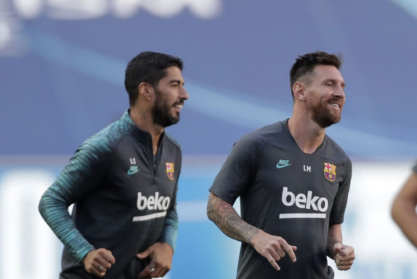 Lionel Messi Slams Barcelona For Kicking Out Luis Suarez