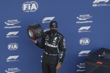 F1 2020: Lewis Hamilton Survives Sochi Scare To Claim Russian Grand Prix Pole