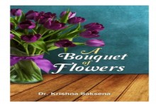 Krishna Saksena's Book  'A Bouquet Of Flowers' Receives Grand Launch By Rajnath Singh
