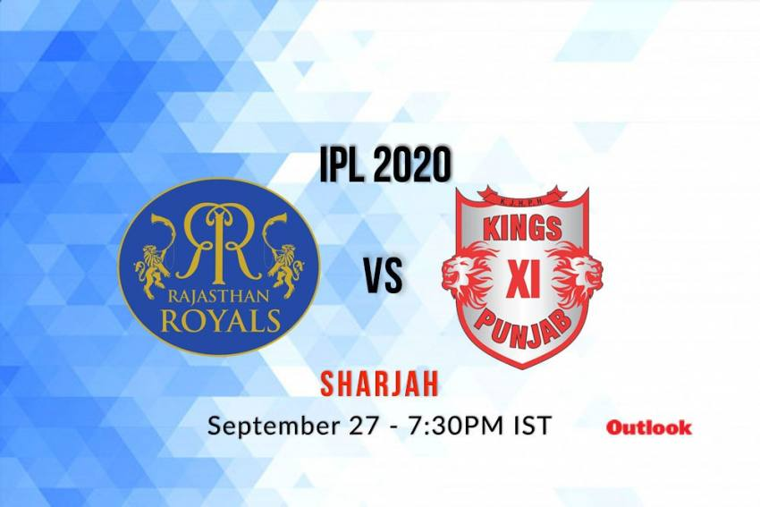 Watch Live, IPL 2020: Where To Get Live Streaming Of RR Vs KXIP From Sharjah