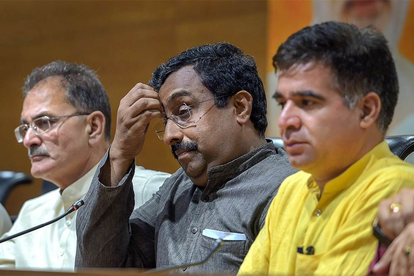 Reshuffle In BJP, Ram Madhav Is No Longer A General Secretary