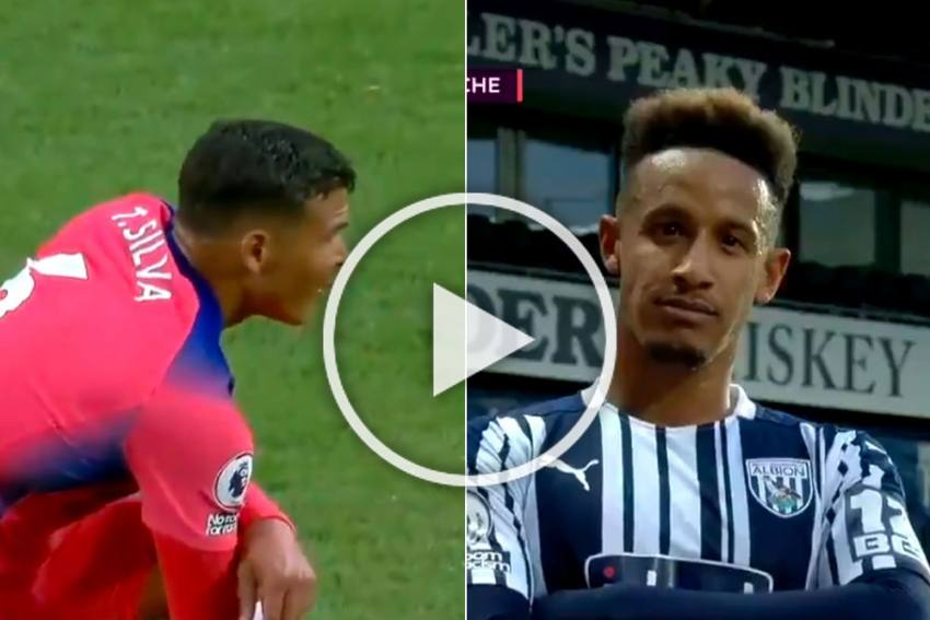 West Brom Vs Chelsea: Thiago Silva Makes Horror Premier League Debut As Baggies Toy With Blues - WATCH
