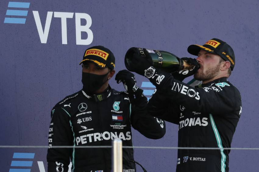 Russian Grand Prix: Valtteri Bottas Rules In Sochi As Lewis Hamilton Pays F1 Penalty