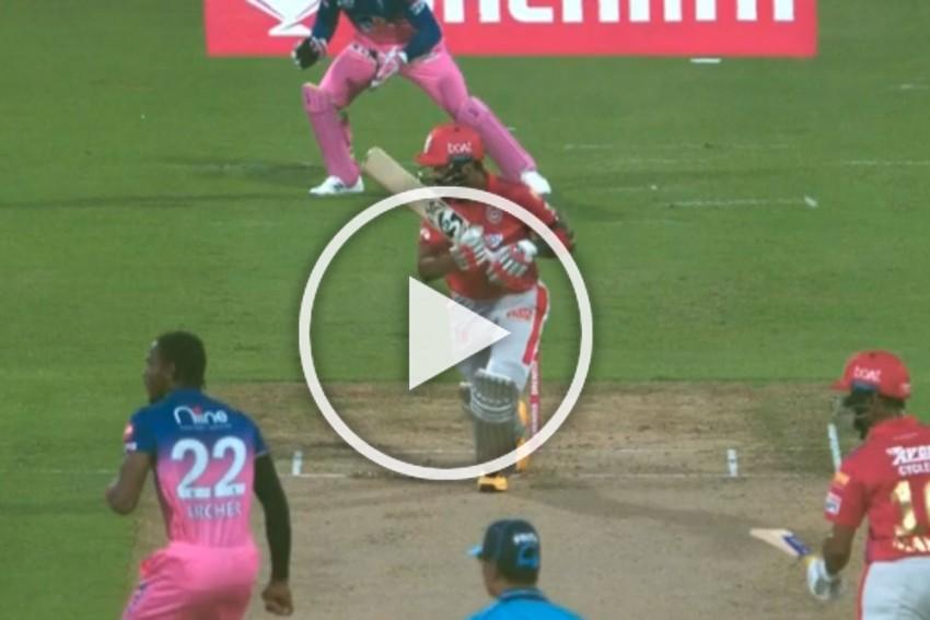 IPL 2020, RR Vs KXIP: Sublime KL Rahul Hits Jofra Archer For Successive Boundaries - WATCH
