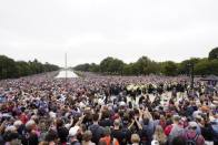 Masses Flock To Washington National Mall For Prayer March