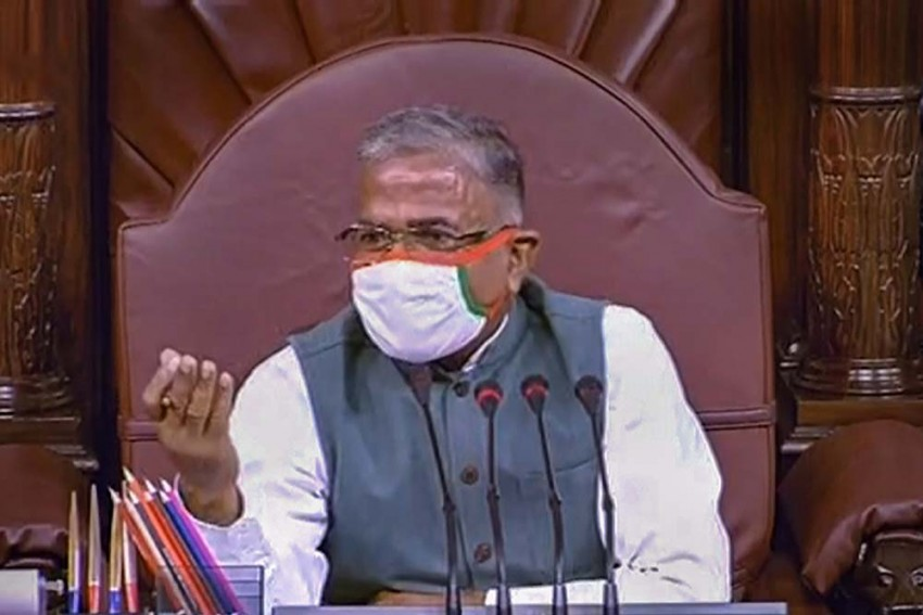 Rajya Sabha Dy Chairman Harivansh Denies Rule Violation, 'Farm Bills Passed As Per Procedure'
