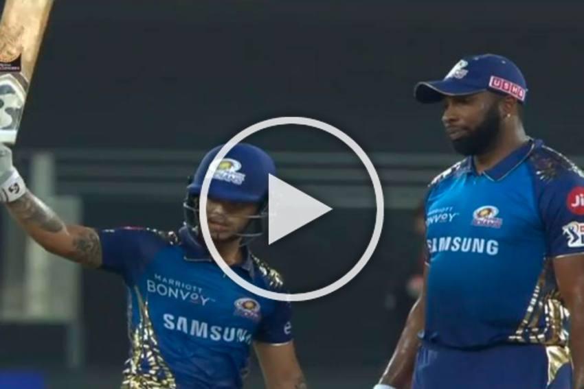 IPL 2020: Watch The Stunning Ishan Kishan, Kieron Pollard Blitz In Dubai - WATCH