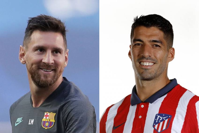 Lionel Messi Is Welcome To Join Luis Suarez At Atletico Madrid, Says Club President Enrique Cerezo
