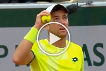 French Open: Tennis Players Rattled By Frightening Sonic Boom - VIDEO