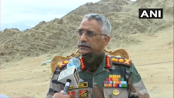 Situation Along LAC 'Slightly Tense', Soldiers Prepared: Army Chief In Ladakh