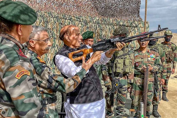 Chinese Defence Minister Seeks Meeting With Rajnath Singh Amid Border Tensions