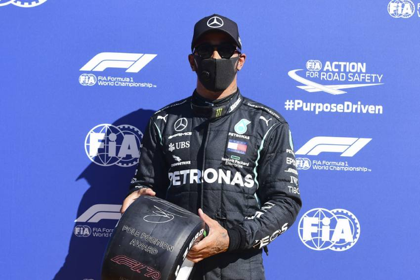 Italian Grand Prix: Lewis Hamilton On Pole Again As Ferrari Endure Miserable Home Outing